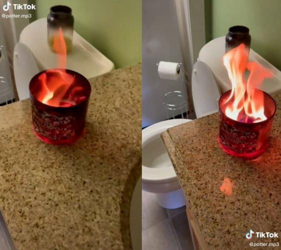 Девушка зажгла свечу, и её дом стал местом преступления. Пламя было не самым худшим, что случилось