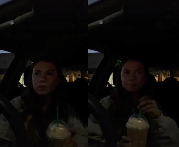 Девушка попробовала трендовый кофе из Starbucks. Но первый же глоток напитка доказал: она больна