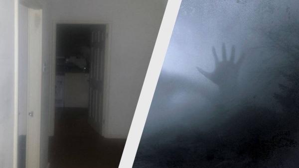 Парень услышал ночью шум и сделал фото пустой кухни. Увеличив снимок, зрители поняли: из дома пора бежать