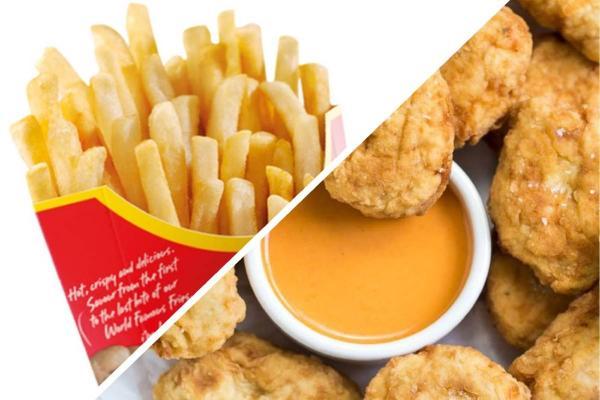 """Парень приготовил салат из картошки фри и наггетсов из """"Макдоналдса"""". Зря: увидев блюдо, гурманы покинули чат"""