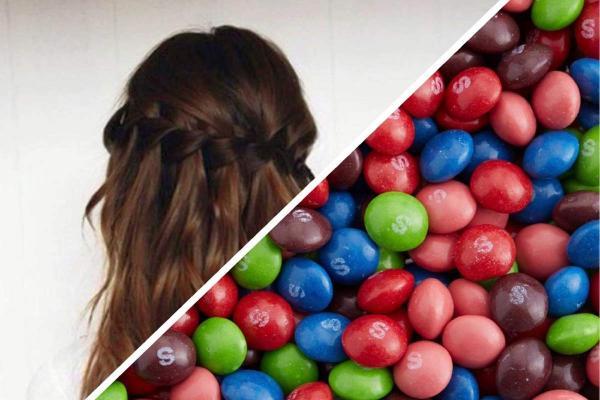 Блогерша на видео покрасила свои волосы Skittles, и люди разочарованы. Не в лайфхаке, а в методе девушки