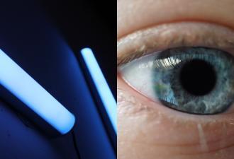 Блогерша проверила, пропускают ли контактные линзы УФ-излучение. Оказалось — да, но люди не спешат ей верить
