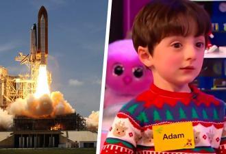 Мальчик рассказал, что хочет быть диспетчером в NASA, и покорил людей. Да так, что его уже ждёт работа мечты