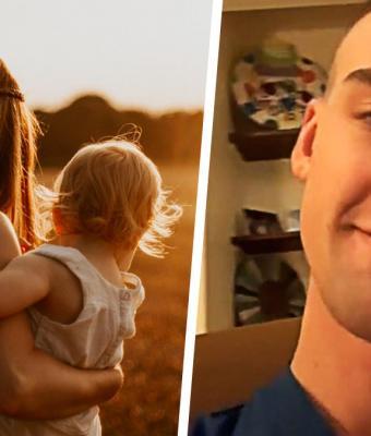Парень показал фото юной мамы и сломал людей. Они верят: женщина размножается делением (или кнопками Ctrl+C)