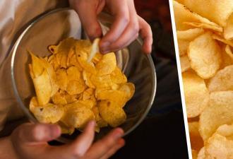Люди видят на фото пустой стол, а на самом деле там лежит чипс. Просто эти начос маскируются лучше, чем ниндзя