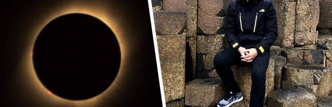 Турист проехал 10 тысяч км, чтобы увидеть солнечное затмение. Взгляд на небо — и он понял, что прибыл не туда