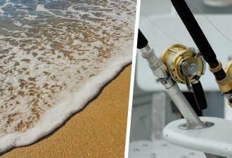 Рыбак шёл по пляжу и вытянул счастливый билет. Теперь он может выкинуть удочки — находка принесёт ему миллионы