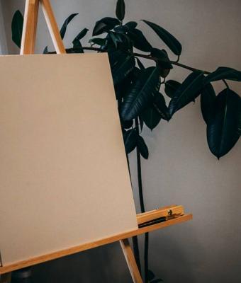 Художник ничего не нарисовал и продал пустой холст. Присядьте, чтобы узнать, сколько он стоит (очень много)