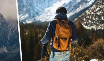 Альпинист пошёл в горы в одиночку и пожалел об этом. Он закосплеил фильм «127 часов», но со счастливым концом