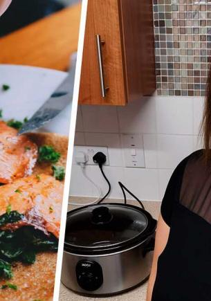 Женщина семь часов готовила окорок, чтобы обнаружить непоправимое. Приправами она натирала вовсе не свинину