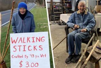 Ветеран нашёл способ заработать миллион и сразу его потерять. Нужно иметь золотые руки и доброе сердце