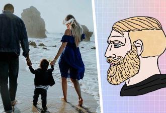 Мем с бородачом Nordic Gamer сравнивает молодёжь с родителями. И в этой схватке миллениалы проиграли