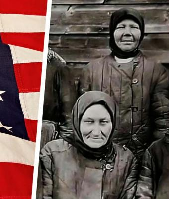 Мужчина сравнил фото женщин из СССР и Штатов одного времени. Но деталь на американском фото разрушила всё