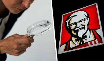 Девушка видела на лого KFC не то, что видим мы. Но стоило взглянуть её глазами, как мир перевернулся