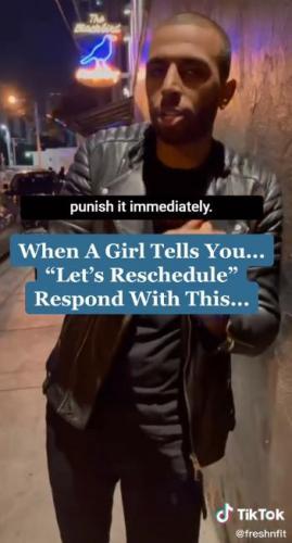 Парень рассказал, как реагировать мужчинам на отмену свидания, и люди злы. Ведь совет похож на дрессировку соб