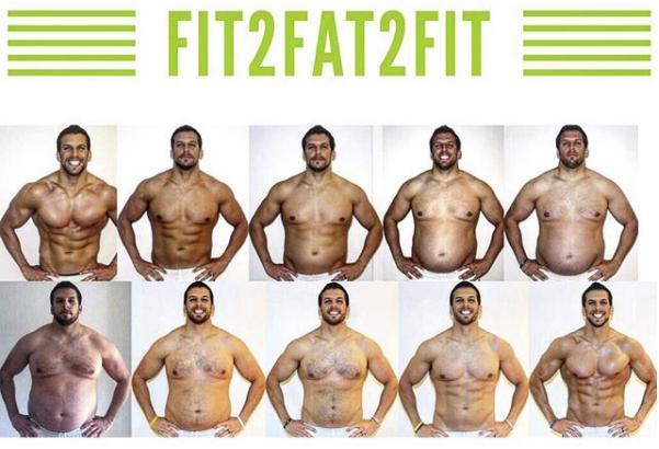 Персональный тренер набрал 30 кг, чтобы помочь своим клиентам. Кристиан Бэйл напрягся от такого подхода