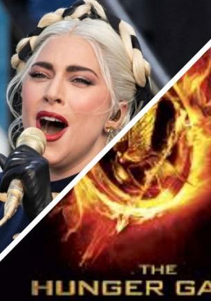 Леди Гага на инаугурации президента США — новый мем у фанов. В ней видят не певицу, а героиню «Голодных игр»