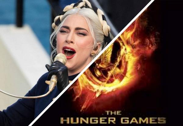 """Леди Гага на инаугурации президента США - новый мем у фанов. В ней видят не певицу, а героиню """"Голодных игр"""""""