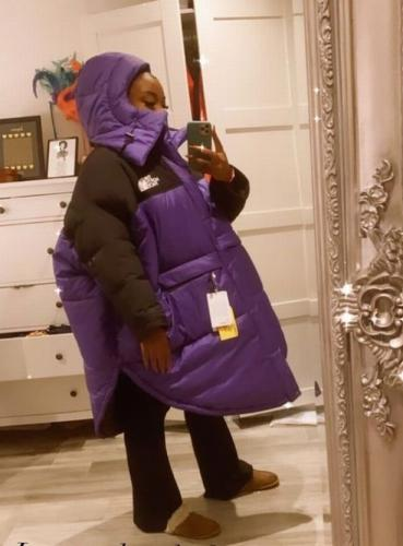Девушка заказала куртку и села в лужу. Не буквально, но другого применения вещи она пока найти не может
