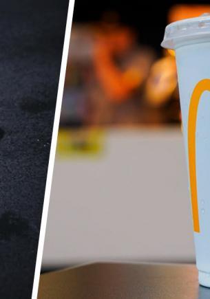 Работник «Макдоналдса» рассказал, что значит маркировка на крышках напитков. Нет, это не просто элемент декора