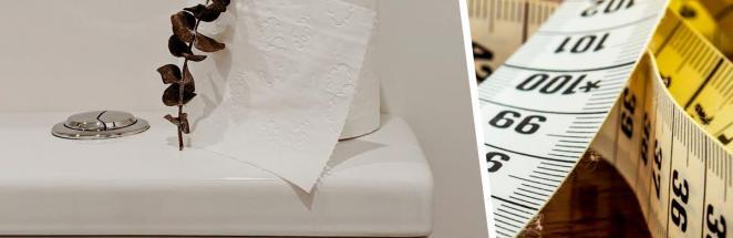 Парень показал, как выглядят туалеты в Швеции. Если вы больше метра ростом, эта страна создана не для вас