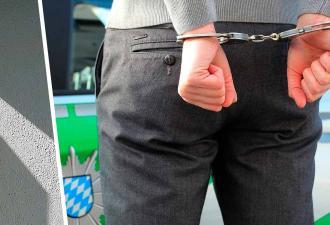 Полицейские не могли найти подозреваемого, пока их не осенило. Он так не хотел ареста, что прошёл сквозь стену