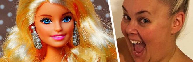 Девушка похудела на 90 кг и стала живым двойником Барби. Её кукольная внешность — удар под дых широкой кости