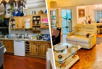 Пара купила дом и впервые за 30 лет сделала ремонт. Итог порадовал: в таком дворце не стыдно жить даже королям
