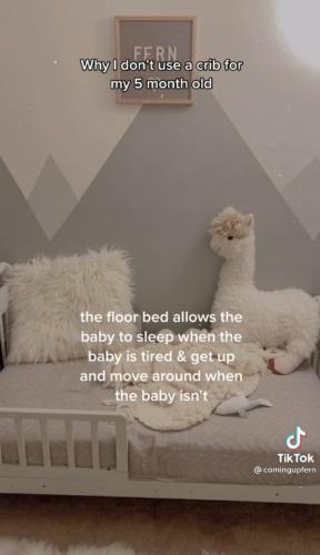 Мама рассказала, почему у её ребёнка нет кроватки, и удивила людей. Ведь она считает, что