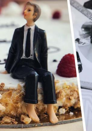 Невеста пошутила над женихом на свадьбе, а его ответ тянет на развод. Он разобьёт сердце стилисту и кондитеру