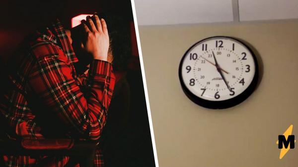 Парень решил: ему пора в больницу, увидев, что вытворяют часы. На самом деле из больницы надо было выйти