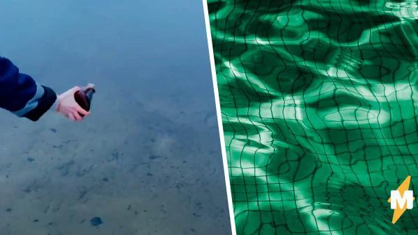 Парень покрасил речку в неоновый цвет. Он не причинил никакого вреда природе, но экозащитники в бешенстве