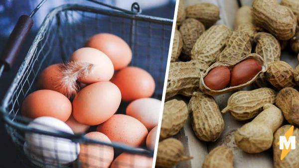 Женщина думала: курица несёт странные яйца, но увидела урожай других. После яичка-арахиса мир не будет прежним
