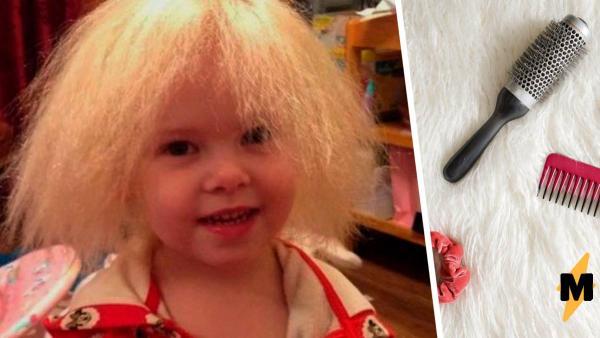 Родители девять лет не расчёсывают маленькой дочке волосы. Но стоит узнать почему - и плохими их не назовешь