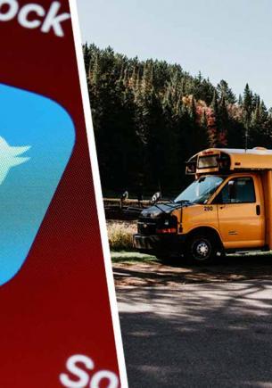 Школьнику хватило одного твита, чтобы стать автобусной VIP-персоной. Теперь его знает каждый водитель города