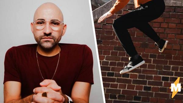 Блогер без ног попал в челлендж с прыжками и получил миллион лайков. Не за спорт: людей интересует физиология