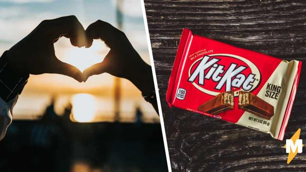Девушка показала, как ест батончик KitKat, и подписчики набрали копам. Ведь за такой способ – только в тюрьму