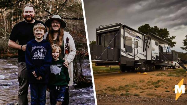 Семья продала дом и переселилась в место в 10 раз меньше. Ни о чем не жалеют, ведь стало лучше, чем было