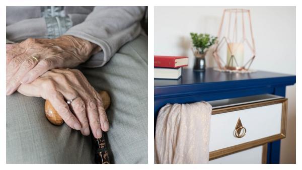 Бабуля открыла комод и поседела во второй раз. Она не знала, что пижама умеет смотреть и шипеть