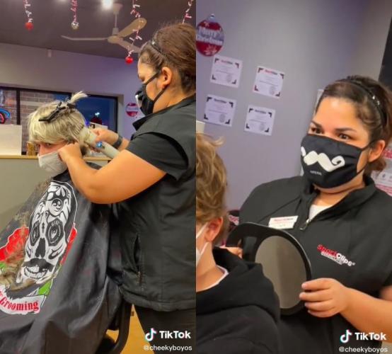 Клиент-пранкер - горе для парикмахера. Блогеры сломали стилистов на стрижке, и нет, им не стыдно