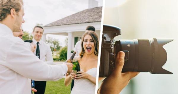 Невеста похвасталась свадебным фото и оскорбила свою сестру. В кадре прекрасно всё, кроме лица родственницы