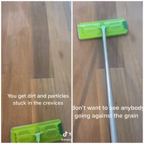 Женщина показала, почему большинство людей неправильно моют полы - и мы тоже. Многие делают их только грязнее