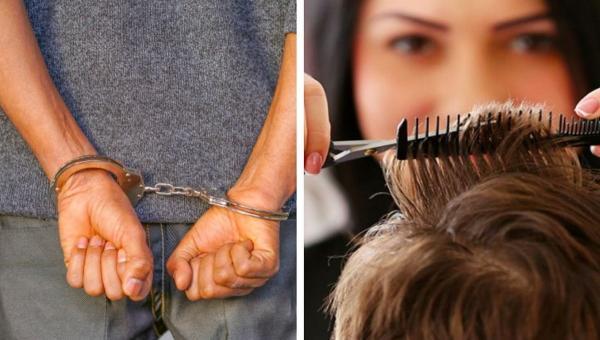 Люди увидели фото подозреваемого и затроллили его причёску. Веселье началось, когда он сам ворвался в комменты