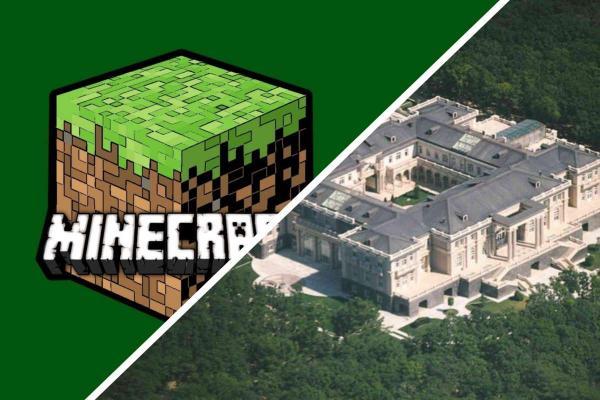"""Парень создал в Minecraft """"дворец Владимира Путина"""", и люди в восторге. Ведь они наконец увидели комнату грязи"""