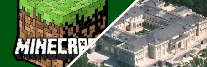 Парень создал в Minecraft «дворец Владимира Путина», и люди в восторге. Ведь они наконец увидели склад грязи