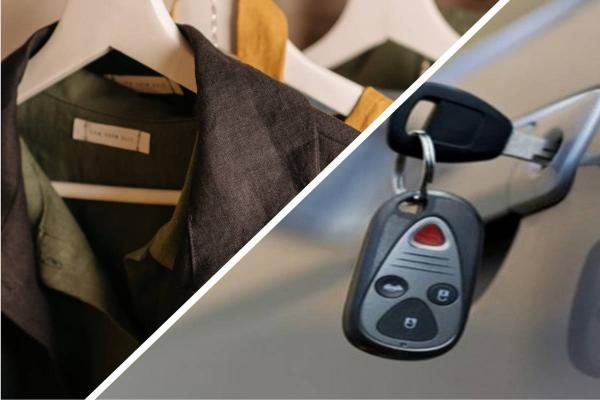 Мужчина купил пальто онлайн и ещё получил сюрприз. Теперь у него есть ключи от машины, осталось найти авто