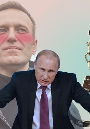 Люди прочли фанфик про Владимира Путина и Алексея Навального. Теперь они уверены: это новые Шерлок и Мориарти