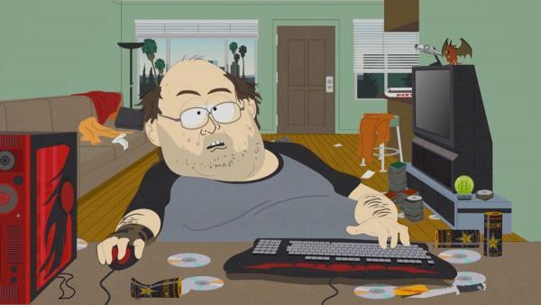 """Умер косплеер геймера из """"Южного парка"""". Фанаты в печали, но уже знают, какой шуткой почтить память кумира"""