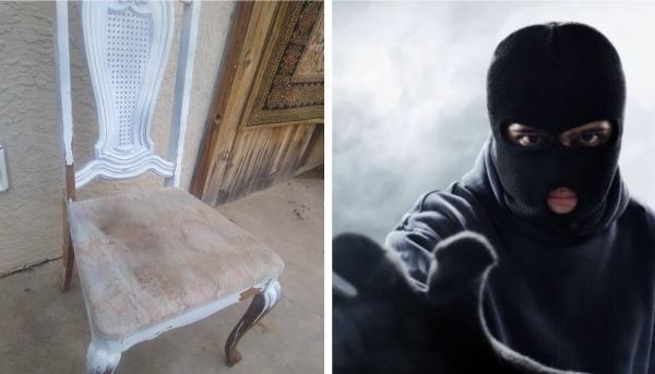 Студент был уверен: его стулья украли из дома. Вскоре их вернули, но то, что с ними стало, удивило хозяина