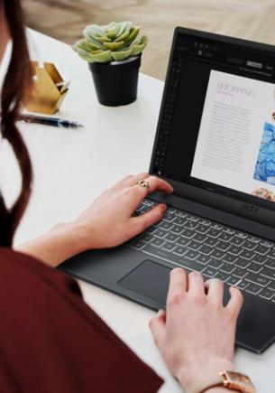 Ноутбук для продуктивных и динамичных. Обзор новинки Modern 15 от MSI